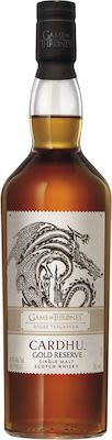 Game of thrones House Targaryen - Cardhu Gold Reserve 70 cl. - Alc. 40% Vol.