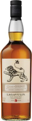 Game of thrones House Lannister - Lagavulin 9 Years Old 70 cl. - Alc. 46% Vol. Islay.
