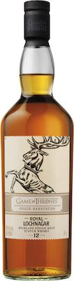 Game of thrones House Baratheon - Royal Lochnagar 12 Years Old 70 cl. - Alc. 40% Vol. Highland.