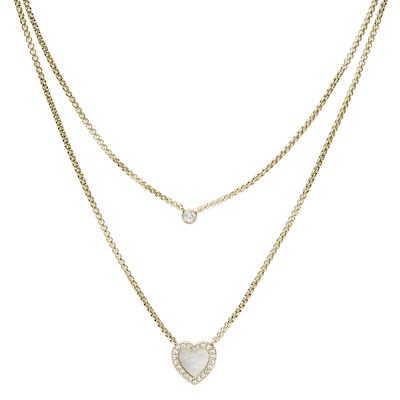 Fossil Ladies' Vintage Glitz Necklace