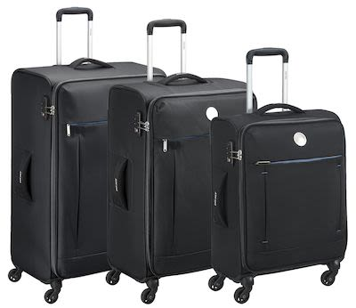 Delsey Banjul 3 Piece Luggage Set
