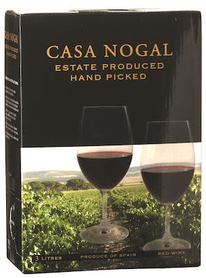 Casa Nogal Tinto Red BIB 300 cl. - Alc. 13,5% Vol.