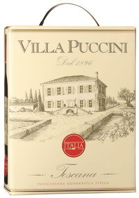 Villa Puccini Toscana BIB 300 cl. - Alc. 12.5% Vol.