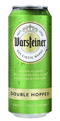 Warsteiner Double Hopped 24x50 cl. cans. - Alc. 4,8% Vol.