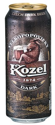 Kozel Dark cans. 24x50 cl. - Alc. 3.8% Vol.