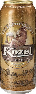 Kozel Premium Lager cans. 24x50 cl. - Alc. 4.60% Vol.