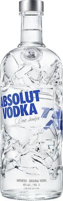 Absolut Blue EOY 2019. Limited edition. 100 cl. - Alc. 40% Vol.