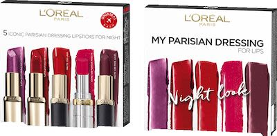 L'Oréal Paris Color Riche Lip Dressing by Night Set