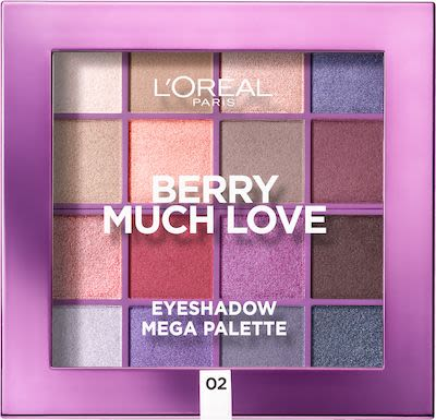 L'Oréal Paris Berry Much Love 16 Shade Eyeshadow Palette