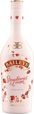Baileys Strawberries & Cream 70cl. - Alc. 17% Vol.