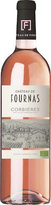 Château de Fournas, AOP Corbières Rosé - ORGANIC 75 cl. - Alc. 13,5% Vol.
