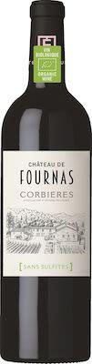 Château de Fournas, AOP Corbières Rouge - ORGANIC / Without Sulphites 75 cl. - Alc. 14% Vol.
