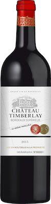 Château Timberlay, AOP Bordeaux Supérieur - ORGANIC 75 cl. - Alc. 14% Vol.