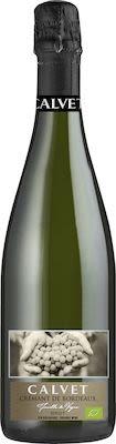 Calvet AOP Crémant de Bordeaux Brut - ORGANIC 75 cl. - Alc. 11,5% Vol.