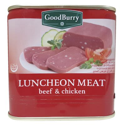 Goodburry Beef & Chicken Luncheon Meat 340 g