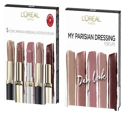 L'Oréal Paris Color Riche Lip Dressing by day Set