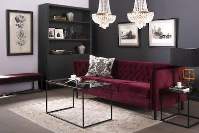 Metric sofa with 2 cushions