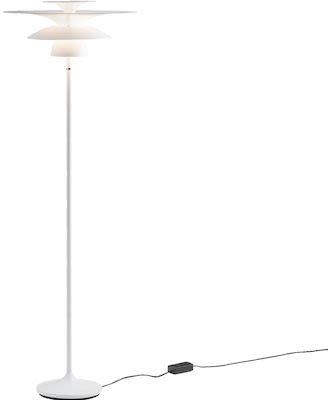 Floor lamp Picasso in matte white
