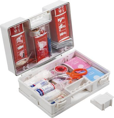 Complete first aid box