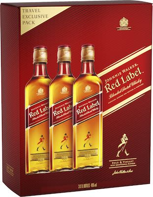 Johnnie Walker Red Triple 3x100 cl. - Alc. 40% Vol.