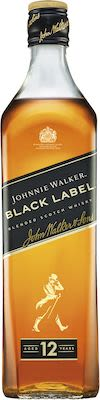 Johnnie Walker Black 300 cl. - Alc. 40% Vol.