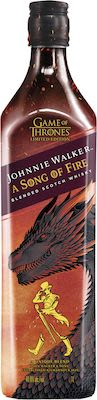 Johnnie Walker Game of thrones Song of Fire 100 cl. - Alc. 40,8% Vol.