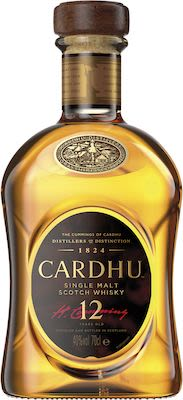 Cardhu 12 Years Old 70 cl. - Alc. 40% Vol. Speyside.