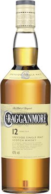Cragganmore 12 Years Old 100 cl. - Alc. 40% Vol. Speyside.