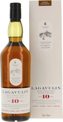 Lagavulin 10 Years Old 70 cl. - Alc. 43% Vol.