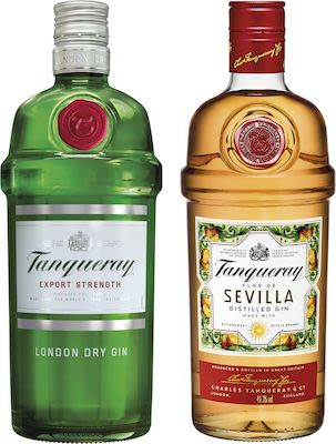 Tanqueray Twin Pack 1 English + 1 Sevilla 2x100 cl. - Alc. 47,3% Vol.