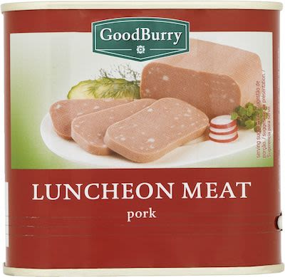 Goodburry Pork & Chicken luncheon meat 340g