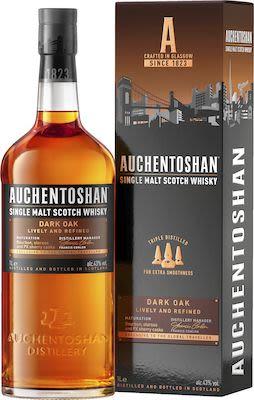 Auchentoshan Dark Oak 100 cl. - Alc. 43% Vol. In gift box.
