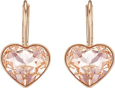 Swarovski Bella Heart Pierced Earrings