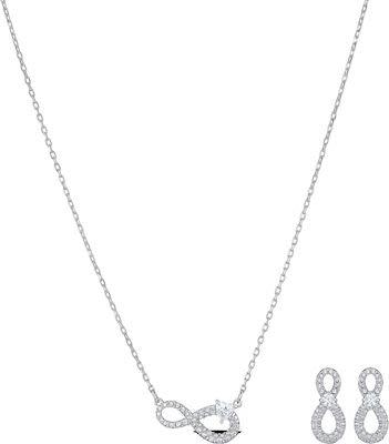 Swarovski Infinity Jewellery Set