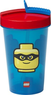 Lego Lunch 40440001 Classic Tumbler with Drinking Straw
