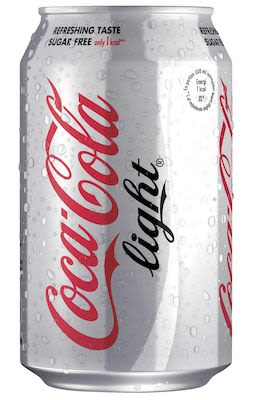 Coca Cola Light 24x33 cl. cans.