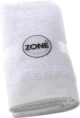Zone Classic Bath Towel set 2 x 70x140 + 2 x 50x70cm. White