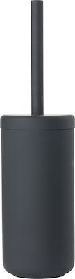 Zone Ume toilet brush, black stoneware/soft touch