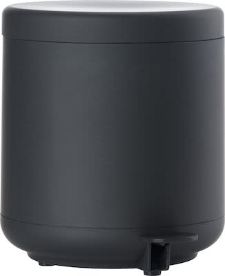 Zone Ume Pedal Bin, black ABS/Soft Touch