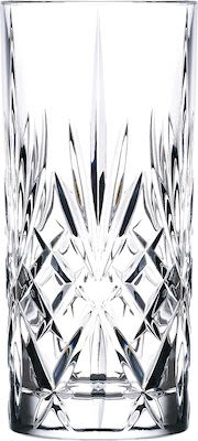 Lyngby Melodia highball crystal, set of 6 glasses