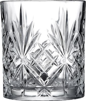 Lyngby Melodia set of 4 shot glasses, crystal