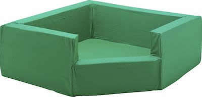 Foam corner pit, green