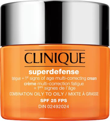 Clinique Moisturizers Superdefense Spf 25 Fatigue 1St Signs Of Age Multi-Correcting Cream Types 3+4 50 ml