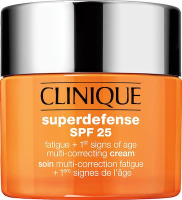 Clinique Moisturizers Superdefense Spf 25 Fatigue 1St Signs Of Age Multi-Correcting Cream Types 1+2 50 ml