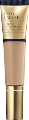 Estée Lauder Futurist Hydra Rescue Moisturizing Makeup SPF 45 Foundation 4N1 Shell Beige 35 ml