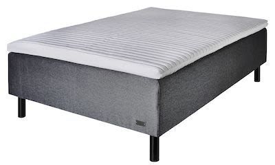 Værløse Rubin box mattress incl. SuperComfort topmattress and legs, medium hartness, 90 x 200 cm