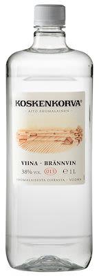 Koskenkorva Viina 100 cl. - Alc. 38% Vol. in PET bottle