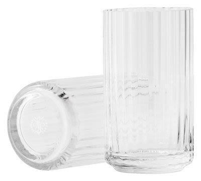 Lyngby Porcelain glass vase H 31 cm