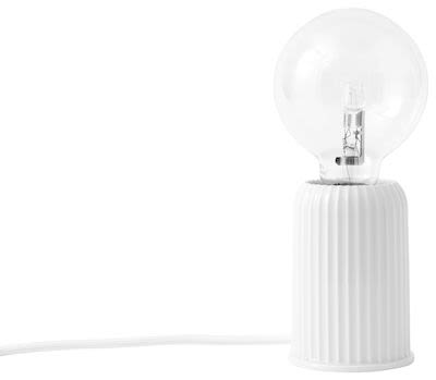 Lyngby Porcelain tablelamp Fitting #03. H10,7 cm (without bulb) Min. buy 2 pcs.