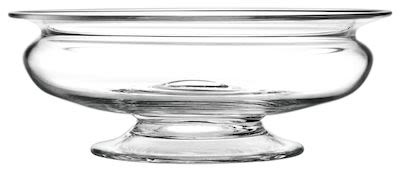 Holmegaard Old English Flower bowl dia. 25 cm. Min. buy 2 pcs.